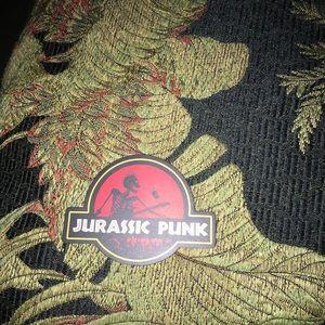 Jurassic punk decal